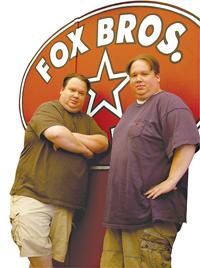 Justin and Johnathan Fox of Fox Bros. Bar-B-Q
