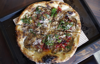 Vegetable Pizza at Varasano's Perimeter